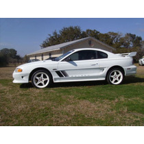 Sticker Lateral Tuning Mustang Saleen 1994-98 En Reflactivo