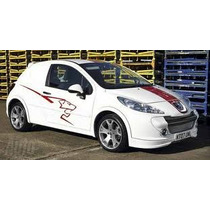 Sticker Lateral Tuning Para Peugeot 207