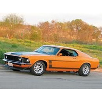 Sticker Lateral Tuning Mustang Boss 302