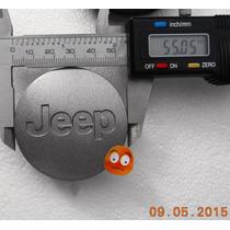 Centro Rin P/jeep 55 Mm.diametro Precio X Cada Pieza