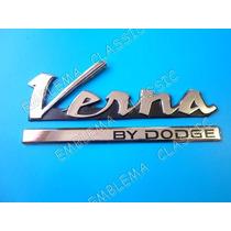 Emblema Verna Hyundai By Dodge De Uso