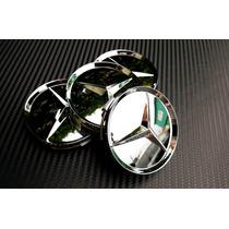 Centros De Rin Mercedes Benz Cromados 4pzas