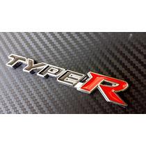 Type R Emblema Autoadherible Honda Civic Accord City Fit