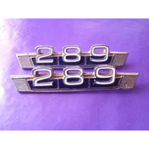 Emblemas 289 Maverick Ford Clasico