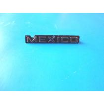 Emblema Mexico Ford Mustang