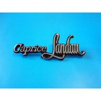 Emblema Caprice Landau Chevrolet Caprice Classic