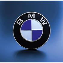 Emblema Bmw Cajuela 73mm Azul Imagen Original 1 Pieza