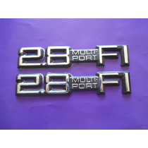 Emblemas 2.8 Cavalier Cutlass Chevrolet M P F I