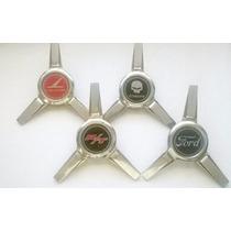 Centro Rin Metalico Aspas Emblema Calcomania Personalizado