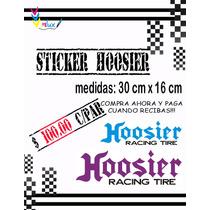 Sticker Hoosier P/ Autos