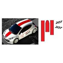 ** Stickers Peugeot 207 Rcup + Peugeot Sport Y Otros **