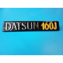 Emblema Datsun 160 J Metalico