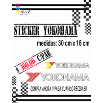 Calcomania Yokohama Para Carros