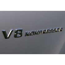 Emblema Estampa Amg Mercedes V8 Kompressor