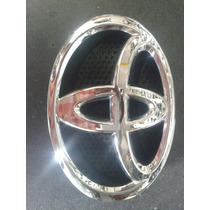 Emblema Toyota Original Logotipo Con Base Completo