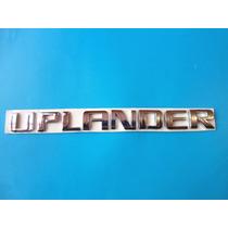 Emblema Chevrolet Uplander Camioneta