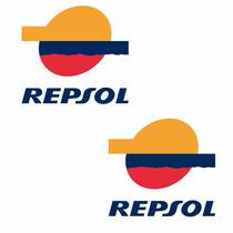 Sticker - Calcomania - Vinil - Emblema Repsol