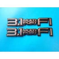 Emblemas Oldsmobile Cutlass Cavalier 3.1 Multi Port Fuel I