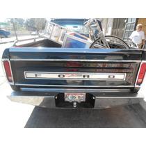 Molduras De Tapa De Batea Ford Pick Up 79