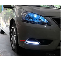Luz De Dia Led Drl Faros Nissan Sentra 2013 2014