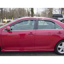 Window Visors 2012-2014 Toyota Camry Cubiertas Ventana Nca