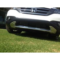 Molduras Skid Honda Crv 2012-14 Remate!! Delantera Y Trasera