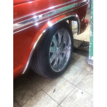 Molduras De Salpicaderas Ford 67 A 72 Pick Up Nuevas
