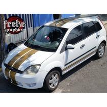 Stickers Ford Fiesta Focus Franjas Estampas Calcomanias