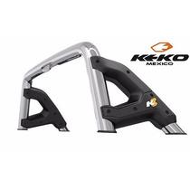 Roll Bar K3 Cromado Frontier D40 2008-2016 Keko Meses S/int