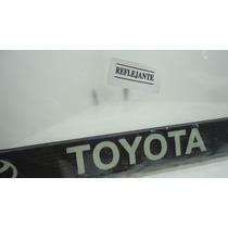 Toyota Porta Placas,,par.. Ganalo