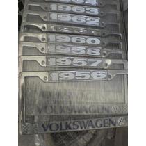 Vocho Clasico Partes Porta Placas Modelos De 50s 60s Y 70s