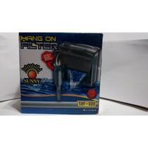 Filtro Cascada Sunny Shf-600 Acuario Pecera 350lts Peces