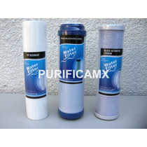 Cartuchos De Repuesto Osmosis Inversa Y Filtros 10 Pulgadas