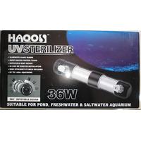 Esterilizador Uv 36watts Hasta 1400 Litros