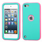 Funda Protector Mixto Apple Ipod Touch 5g Aqua / Rosa / Anti