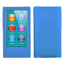 Funda Protector Ipod Nano 7g Silicon Azul