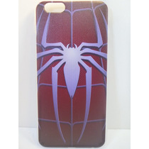 Protector Funda Silicona Iphone 6 Spider Man