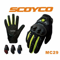 Scoyco Mc29 Guantes Para Motocicleta Moto Full Finger Mc12
