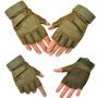 Guantes Tacticos Militares Cortos Almohadillas Accesorios