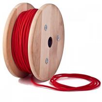 Cable Textil Eléctrico / Forrado De Tela Varios Colores