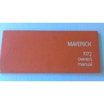 Manual De Propietario De Maverick 1972 Original Usado