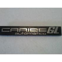 Vw Caribe Rotulo Caribe Gl Automatico Original