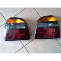 Vw Golf A3 Par Calaveras Humo Replica