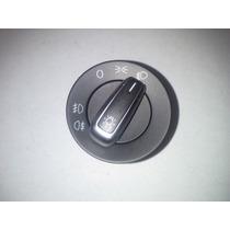 Vw Jetta Golf A4 Interuptor Cromo Luz 2 Pasos Y 2 Niebla