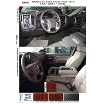 Moldura Portavasos Chevrolet Silverado Cheyenne Gmc 2014-15