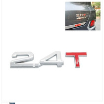Decalque De Metal Cromado 3d 2.4t Para Carro