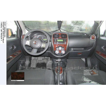 Kit Tablero Molduras Nissan March 2015. Sense, Advance; Sr