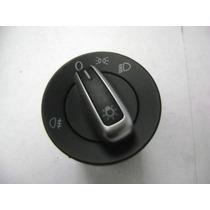 Vw Bora Jetta A6 Interuptor Luces Aluminio Con Niebla
