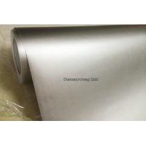 Vinil Autoaderible Cromo-silver Mate 1 X 1.52 Mts