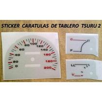 Sticker Vinil Reflejnte Caratula Para Tablero Tsuru 2 Nissan